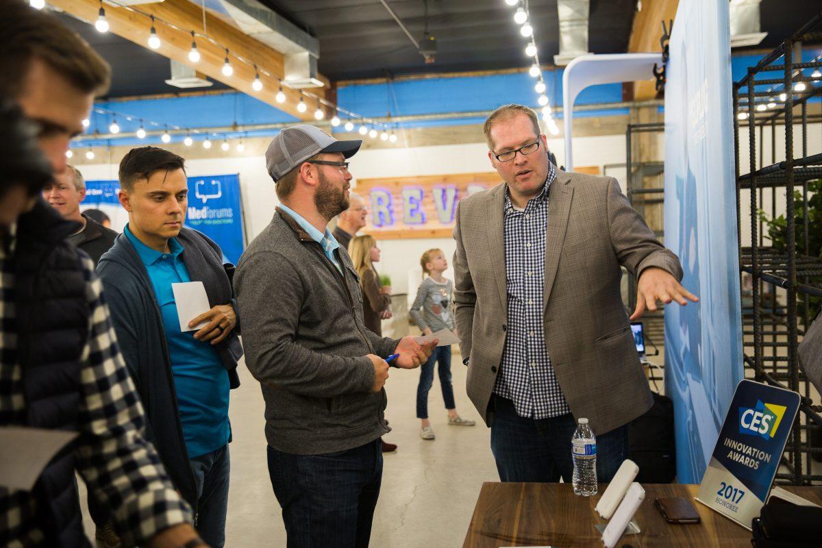 Entrepreneur Josh Cross explains his portable power products